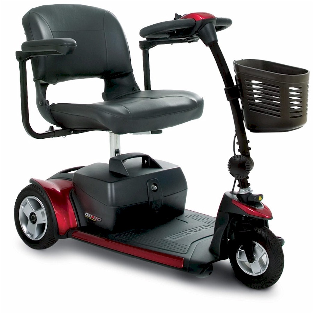 Pride Mobility, Go-Go Elite Traveller Plus, 3 Wheel Scooter For Sale
